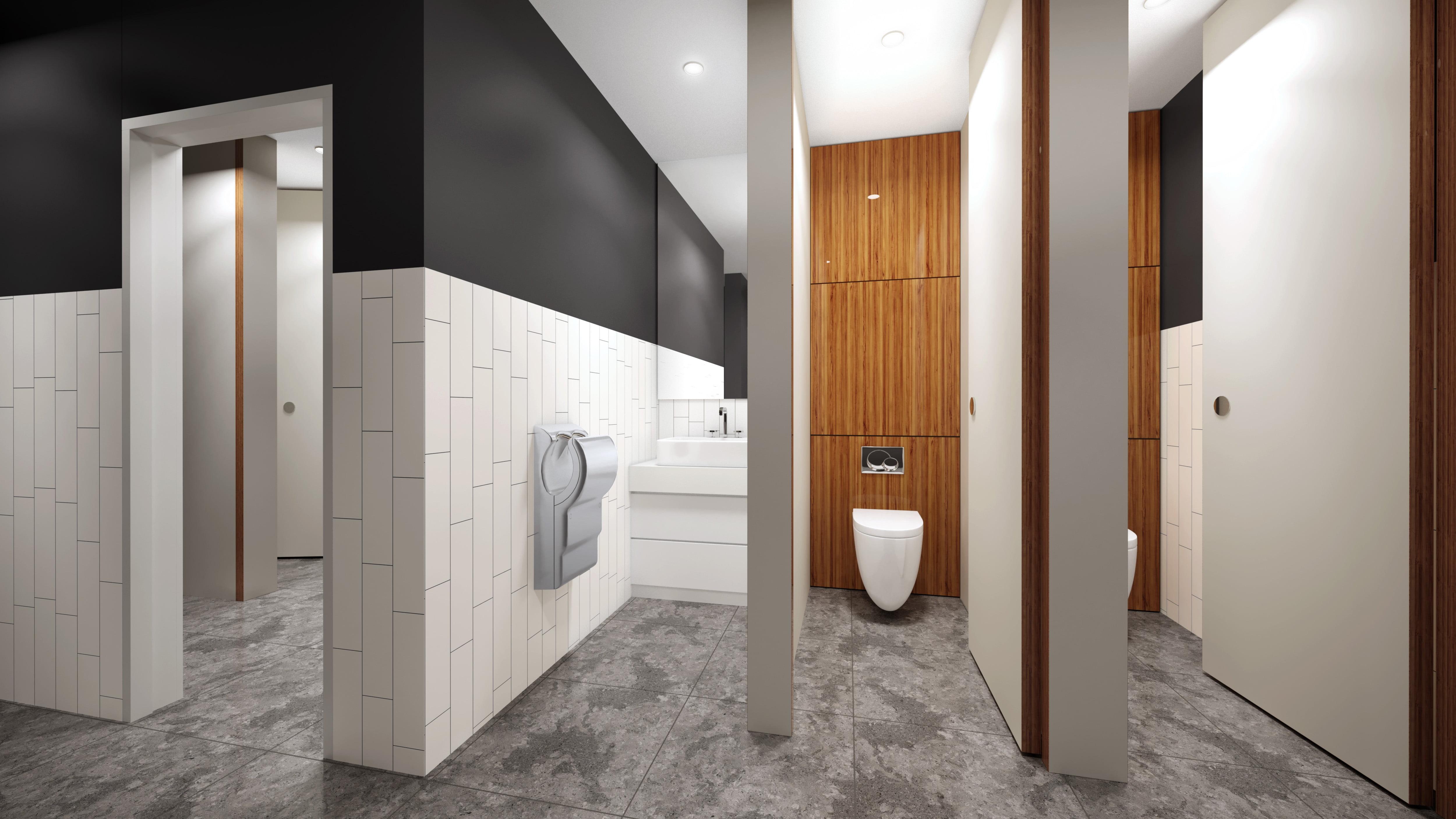 New Kieghley Office Client Bathroom