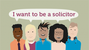 I want to be a solicitor